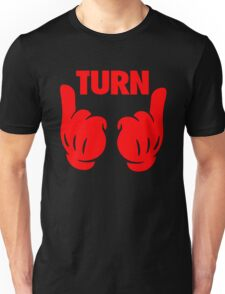 Turn Up [Red] Unisex T-Shirt