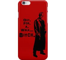 Spike in his own words (black) iPhone Case/Skin
