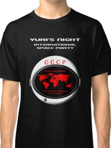 Yuri's Night International Space Party Classic T-Shirt