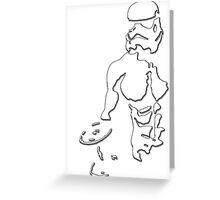 Stormtrooper Star Wars Greeting Card