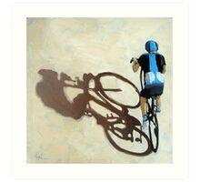 Single Focus Tour de France bicycle oil painting Art Print