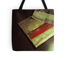 Osama's Christmas present to the West. Tote Bag