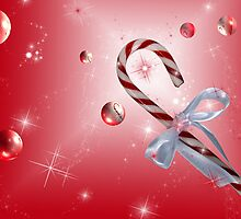 A Red Bubble Christmas by Maria Dryfhout