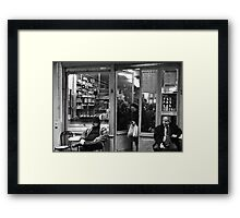 Bar Tabac, Rue Mouffetard, Paris, December 2004 Framed Print