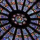 Stained glass - Notre Dame by sasjacobs