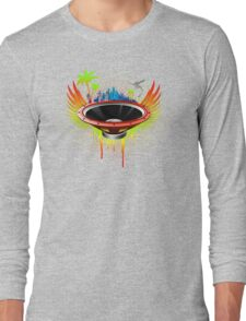 Ride the Bass wave - Ultimate edition Long Sleeve T-Shirt