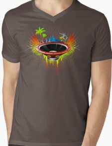 Ride the Bass wave - Ultimate edition Mens V-Neck T-Shirt