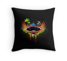Ride the Bass wave - Ultimate edition Throw Pillow