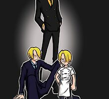 Sanji's path by Arry