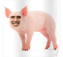 Barack Opig Poster