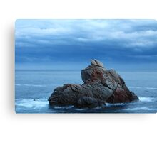 Dramatic seascape Canvas Print
