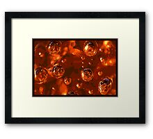 Paper Weight. Framed Print