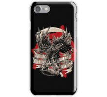 THE CROW VS. THE RAT iPhone Case/Skin