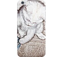 Playful Kitten B iPhone Case/Skin