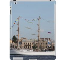 Mexican three-masted barque Cuauhtemoc iPad Case/Skin