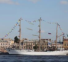 Mexican three-masted barque Cuauhtemoc by mrivserg