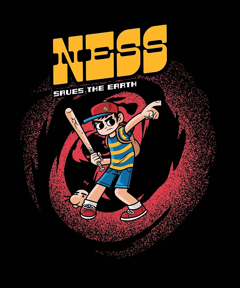 Ness Saves The Earth by Haragos