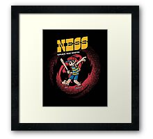 Ness Saves The Earth Framed Print