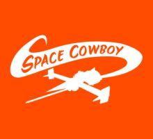 Space Cowboy in White Kids Clothes