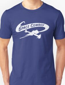 Space Cowboy in White T-Shirt