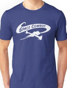 Space Cowboy in White Unisex T-Shirt