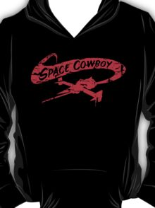 Space Cowboy - Distressed Red T-Shirt