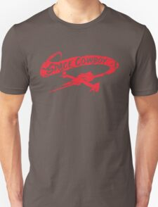 Space Cowboy - Distressed Red Unisex T-Shirt