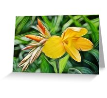 Paradise In Paint Greeting Card