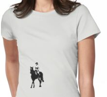 riding Womens Fitted T-Shirt