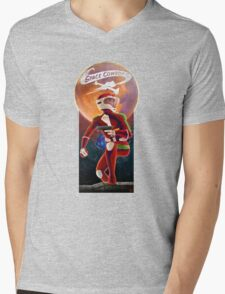 Space Cowboy - First Son of Mars Mens V-Neck T-Shirt
