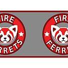 Fire Ferrets MUG by SpazzyFanGirl