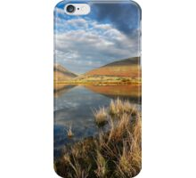 Blencathra and Skiddaw from Tewet Tarn in the English Lake District iPhone Case/Skin