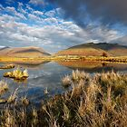 Blencathra and Skiddaw from Tewet Tarn in the English Lake District by Martin Lawrence