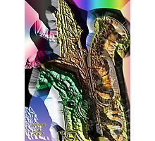 The RIGHT HAND of SAX Photographic Print