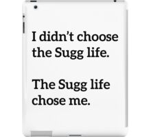 Sugg Life Black iPad Case/Skin