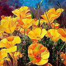 Yellow poppy by liboart