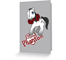 My Little Phantom Greeting Card