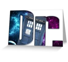 Dr....Who? Greeting Card