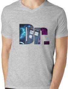 Dr....Who? Mens V-Neck T-Shirt