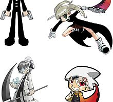 Soul Eater Sticker Sheet Collection by 57MEDIA