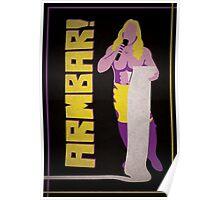 """Man of 1004 Armbars"" Wrestling Design Poster"