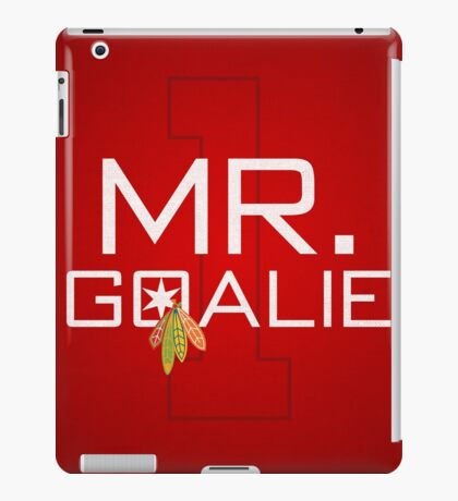 Mr. Goalie iPad Case/Skin