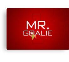 Mr. Goalie Canvas Print
