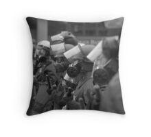 Frontline Opposition Throw Pillow