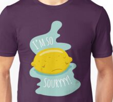 Lemon Fruit Illustration - I'm So Sorry! Unisex T-Shirt