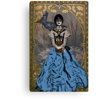 Steam Punk Raven Canvas Print