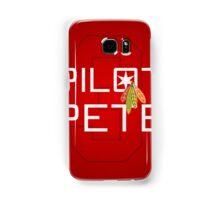 Pilot Pete Samsung Galaxy Case/Skin