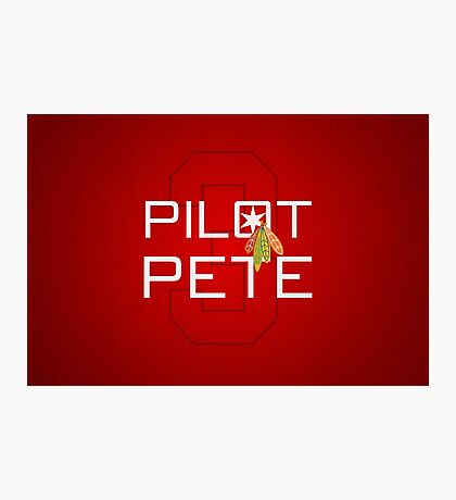 Pilot Pete Photographic Print
