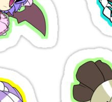 Touhou Sticker Sheet Collection Sticker