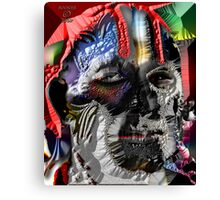 THE UGLY HEAD OF RACISM Canvas Print